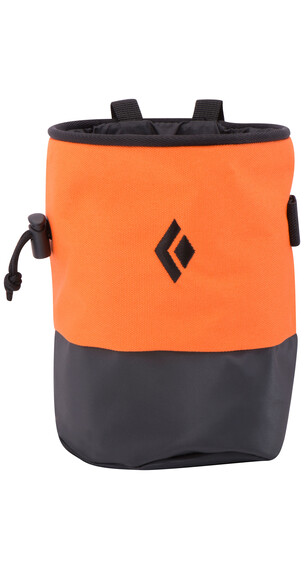Black Diamond Mojo Zip chalkbag S/M oranje/rood